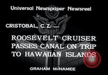 Image of Franklin Roosevelt Cristobal Canal Zone, 1934, second 4 stock footage video 65675029845