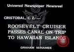 Image of Franklin Roosevelt Cristobal Canal Zone, 1934, second 5 stock footage video 65675029845