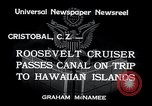 Image of Franklin Roosevelt Cristobal Canal Zone, 1934, second 6 stock footage video 65675029845