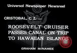 Image of Franklin Roosevelt Cristobal Canal Zone, 1934, second 7 stock footage video 65675029845