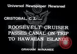 Image of Franklin Roosevelt Cristobal Canal Zone, 1934, second 8 stock footage video 65675029845