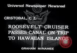 Image of Franklin Roosevelt Cristobal Canal Zone, 1934, second 9 stock footage video 65675029845