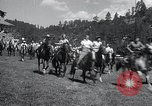 Image of American buffalo round-up South Dakota United States, 1934, second 6 stock footage video 65675029846