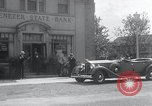 Image of 1930s bank robbery Buffalo New York USA, 1934, second 3 stock footage video 65675029854