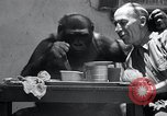 Image of trained gorilla bank robbery Cincinnati Ohio USA, 1934, second 12 stock footage video 65675029855
