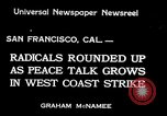 Image of armed constabularies San Francisco California USA, 1934, second 1 stock footage video 65675029856