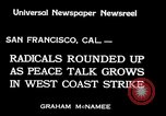 Image of armed constabularies San Francisco California USA, 1934, second 2 stock footage video 65675029856