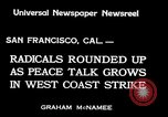 Image of armed constabularies San Francisco California USA, 1934, second 4 stock footage video 65675029856