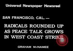 Image of armed constabularies San Francisco California USA, 1934, second 7 stock footage video 65675029856