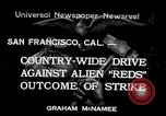 Image of West Coast Strike San Francisco California USA, 1934, second 1 stock footage video 65675029857