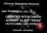 Image of West Coast Strike San Francisco California USA, 1934, second 2 stock footage video 65675029857