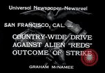 Image of West Coast Strike San Francisco California USA, 1934, second 3 stock footage video 65675029857