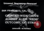 Image of West Coast Strike San Francisco California USA, 1934, second 6 stock footage video 65675029857