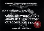 Image of West Coast Strike San Francisco California USA, 1934, second 7 stock footage video 65675029857