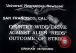 Image of West Coast Strike San Francisco California USA, 1934, second 8 stock footage video 65675029857