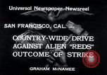 Image of West Coast Strike San Francisco California USA, 1934, second 9 stock footage video 65675029857