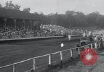 Image of dirt track car race Hohokus New Jersey USA, 1934, second 10 stock footage video 65675029862