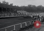 Image of dirt track car race Hohokus New Jersey USA, 1934, second 11 stock footage video 65675029862