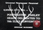 Image of 70th National Elks Convention Kansas City Missouri USA, 1934, second 1 stock footage video 65675029863