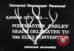 Image of 70th National Elks Convention Kansas City Missouri USA, 1934, second 3 stock footage video 65675029863