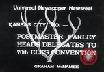 Image of 70th National Elks Convention Kansas City Missouri USA, 1934, second 6 stock footage video 65675029863