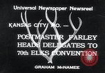 Image of 70th National Elks Convention Kansas City Missouri USA, 1934, second 7 stock footage video 65675029863