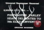 Image of 70th National Elks Convention Kansas City Missouri USA, 1934, second 9 stock footage video 65675029863