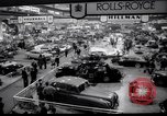 Image of Earls Court Motor Show London England, 1959, second 7 stock footage video 65675029873