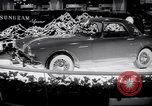 Image of Earls Court Motor Show London England, 1959, second 8 stock footage video 65675029873
