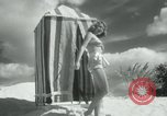 Image of metallic swimsuits Florida United States USA, 1948, second 5 stock footage video 65675029887
