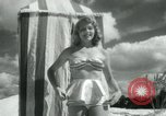Image of metallic swimsuits Florida United States USA, 1948, second 6 stock footage video 65675029887