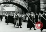 Image of Harry S Truman Oxford England United Kingdom, 1956, second 9 stock footage video 65675029891