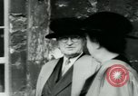Image of Harry S Truman Oxford England United Kingdom, 1956, second 12 stock footage video 65675029891