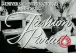 Image of designer outfits Long Island New York USA, 1956, second 2 stock footage video 65675029893