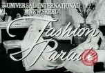 Image of designer outfits Long Island New York USA, 1956, second 3 stock footage video 65675029893