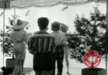 Image of designer outfits Long Island New York USA, 1956, second 11 stock footage video 65675029893