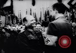 Image of Nazi meeting Berlin Germany, 1937, second 9 stock footage video 65675029897