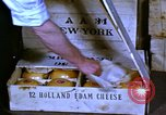 Image of cheese and tulip bulbs Netherlands, 1940, second 10 stock footage video 65675029904