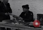 Image of Captain Harry Anderson reviews Nazi Goring's stolen art Berchtesgaden Germany, 1945, second 3 stock footage video 65675029910