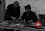 Image of Captain Harry Anderson reviews Nazi Goring's stolen art Berchtesgaden Germany, 1945, second 4 stock footage video 65675029910