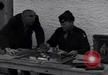 Image of Captain Harry Anderson reviews Nazi Goring's stolen art Berchtesgaden Germany, 1945, second 6 stock footage video 65675029910