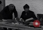 Image of Captain Harry Anderson reviews Nazi Goring's stolen art Berchtesgaden Germany, 1945, second 7 stock footage video 65675029910