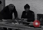 Image of Captain Harry Anderson reviews Nazi Goring's stolen art Berchtesgaden Germany, 1945, second 8 stock footage video 65675029910