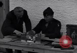 Image of Captain Harry Anderson reviews Nazi Goring's stolen art Berchtesgaden Germany, 1945, second 10 stock footage video 65675029910