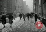 Image of snow in spring New York City USA, 1965, second 8 stock footage video 65675029927