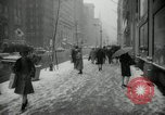 Image of snow in spring New York City USA, 1965, second 9 stock footage video 65675029927