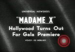 Image of premier of Madame X New York United States USA, 1966, second 1 stock footage video 65675029932