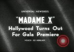 Image of premier of Madame X New York United States USA, 1966, second 3 stock footage video 65675029932