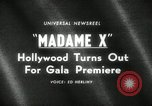 Image of premier of Madame X New York United States USA, 1966, second 4 stock footage video 65675029932