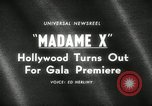 Image of premier of Madame X New York United States USA, 1966, second 5 stock footage video 65675029932
